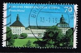 Bund 2018, Michel# 3366 O  Burgen Und Schlösser: Schloss Friedenstein - BRD