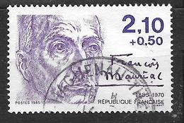 FRANCE 2360 écrivain François Mauriac - Frankreich