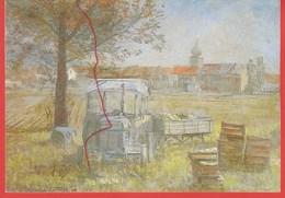Kappesbauern Bei Lisdorf, Saar, Künstlerkarte. 1936, Willi Hoffmann-Güth - Kreis Saarlouis
