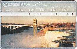 TAIWAN - Bridge, ITA Telecard(D 5063), CN : 643G, Used - Taiwan (Formosa)