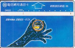 TAIWAN - Hi Net, ITA Telecard(D6022), CN : 682G, Used - Taiwan (Formosa)