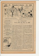 3 Scans Presse 1935 Fête Des Rois Galette Des Rois Histoire Epiphanie  226CH4 - Vieux Papiers