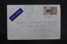 FRANCE - Vincennes Surchargé Sur Enveloppe De Valence / Rhone En FM En 1941 Pour Kati ( Soudan ) - L 30465 - Marcophilie (Lettres)