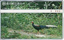 TAIWAN - Bird, ITA Telecard(D6014), CN : 644C, Used - Taiwan (Formosa)