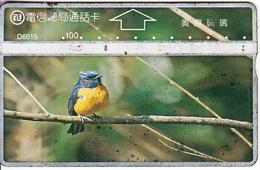 TAIWAN - Bird, ITA Telecard(D6015),  CN : 664E, Used - Taiwan (Formosa)