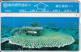 TAIWAN - Fish, Underwater, ITA Telecard(D5025), CN : 506K, Used - Fische