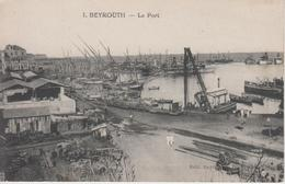CPA Beyrouth - Le Port - Liban