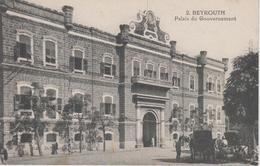 CPA Beyrouth - Palais Du Gouvernement (avec Animation) - Liban