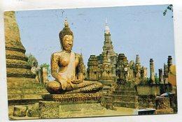 THAILAND AK 350675 Wat Mahathat - Image Of Budha - Tailandia