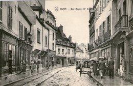 (106) CPA  Dijon  Rue Monge   (Bon Etat) - Dijon