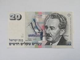 ISRAELE 20 NEW SHEQUALIM 1993 - Israele