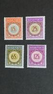 Indonesia - Port (Bajar) Nrs. 52 T/m 55 (postfris) - Indonesia