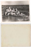 1956 Original 12x8 Photo Vintage Children Child Girl Boy Teenager Swimsuit Pants Woman Man Pin Up Beach Russia (5076) - Pin-Ups