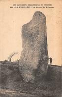 LA FEUILLEE -  ( 29 ) -  (edts Joncour  Brasparts ) Le Menhir De Kélercun - Dolmen & Menhirs