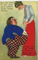 COMIC - SAYS MR SHORT TO MRS LONG (IF I CATCH YOU BENDING) T248 - Bandes Dessinées