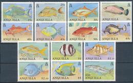 Anguilla (Fische) Nr. 817-830 ** (Michel 24,00 €) - Poissons