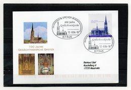 BRD, 2004, Brief (echt Gelaufen) Mit Michel 2415, 100 Jahre Gedächtniskirche Speyer - [7] Federal Republic