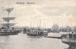 Hamburg - Hafenpartie 1907 - Altona