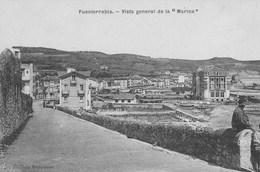 """Fuenterrabia.  Vista General De La """"Marina""""    Scan - Danemark"""