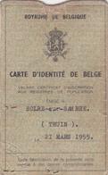 Ancienne Carte D'identité - Old Paper