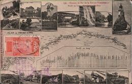 ! Alte Ansichtskarte Eisenbahn, Chemin De Fer De La Guinee Francaise, Conakry - Kankan, Afrika, Africa, Railway,1913 - Treinen