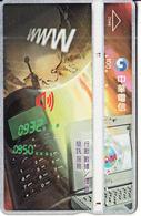 TAIWAN - Telephone & Laptop, Chunghwa Telecard(7046), CN : 751C, Used - Taiwan (Formosa)