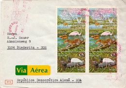 Postal History Cover: Brazil Sets On Cover - Stamps