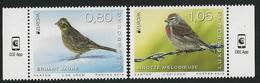 """LUXEMBURGO /LUXEMBOURG / LUXEMBURG  -EUROPA 2019-NATIONAL BIRDS.-""""AVES-BIRDS -VÖGEL-OISEAUX""""-  SERIE De 2 V: - 2019"""