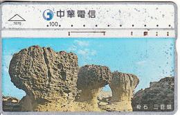 TAIWAN - Chunghwa Telecard(7070), CN : 817F, Used - Taiwan (Formosa)