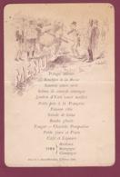 260519A - MENU 1894 Hôtel De La Haute Mère Dieu - Illustration Montreur D'ours - CHALONS - Menus