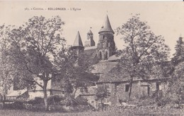 CPA - 363. Corrèze - COLLONGES  - L'église - Other Municipalities