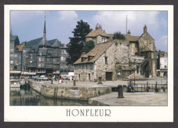 73346/ HONFLEUR, Le Vieux Bassin, La Lieutenance Et Les Façades Typiques Du Quai Sainte-Catherine - Honfleur