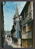 73338/ HONFLEUR, Vieille Rue Pittoresque Avec Le Clocher Ste-Catherine - Honfleur