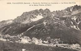 73 Valloires Route Du Galibier Au Lautaret La Setaz Des Prés Et La Setaz Vieille Cpa Carte Animée Auto Automobile - Frankreich