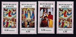 Haiti. 1971 Gemälde Mi: 1160 + 1162 Und Flugpost 1163 + 1165 - Haïti