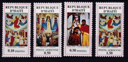 Haiti. 1971 Gemälde Mi: 1160 + 1162 Und Flugpost 1163 + 1165 - Haiti