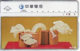 TAIWAN - Traditional, Chunghwa Telecard(7005), CN : 635E, Used - Taiwan (Formosa)