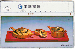 TAIWAN -  Chunghwa Telecard(7003), CN : 670C, Used - Taiwan (Formosa)