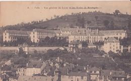 CPA - 8. TULLE - Vue Générale Du Lycée Et Des écoles De Boudigale - Tulle