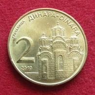 Serbia 2 Dinara 2010  Serbie Serbien Servia - Serbia