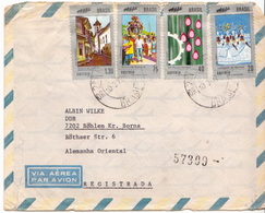 Postal History Cover: Brazil Set On Cover - Brazil