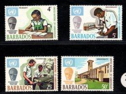 Barbados, 1970, SG 415 - 418, MNH - Barbades (1966-...)