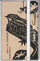 TAIWAN - Painting/Bird, Chunghwa Telecard(A805A82), CN : 805H, Used - Taiwan (Formosa)