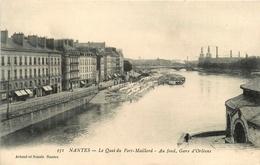 Nantes * Le Quai Du Port Maillard * Au Fond Gare D'orléans - Nantes