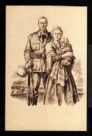 11482-GERMAN EMPIRE-MILITARY Censor PROPAGANDA POSTCARD German SUB-OFFICER.1941.WWII.DEUTSCHES REICH.Postkarte.Carte - Germany