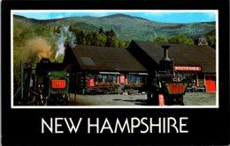 New Hampshire Mt Washington World's First Cog Railway And Base Station - White Mountains