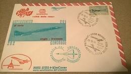 ROVIGO 1974 MOSTRA AEROFIL. CITTA' DELLE ROSE - CONCORDE SUPERSONICO - Aerei