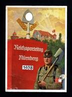 471-GERMAN EMPIRE-MILITARY PROPAGANDA POSTCARD REICHSPARTEITAGE Nurnberg.1938.WWII.DEUTSCHES REICH.Postkarte.Carte - Briefe U. Dokumente