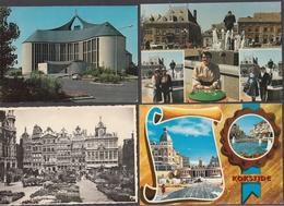 LT49/ BELGIQUE, Lot De 400 Cartes, 201 Format 10/15 Et 199 Format 14/9 - Cartes Postales