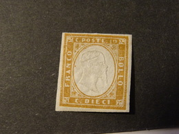 ITALIE  SARDAIGNE 1855-61 Neuf - Sardaigne
